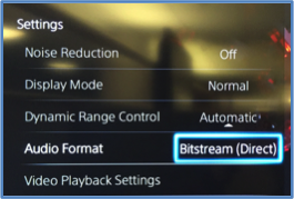 Enabling Dolby bitstream pass-through on Playstation | Dolby